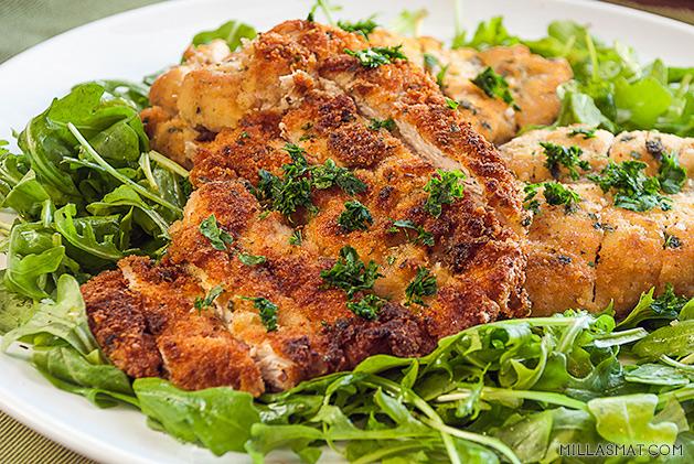 Kylling Milanese