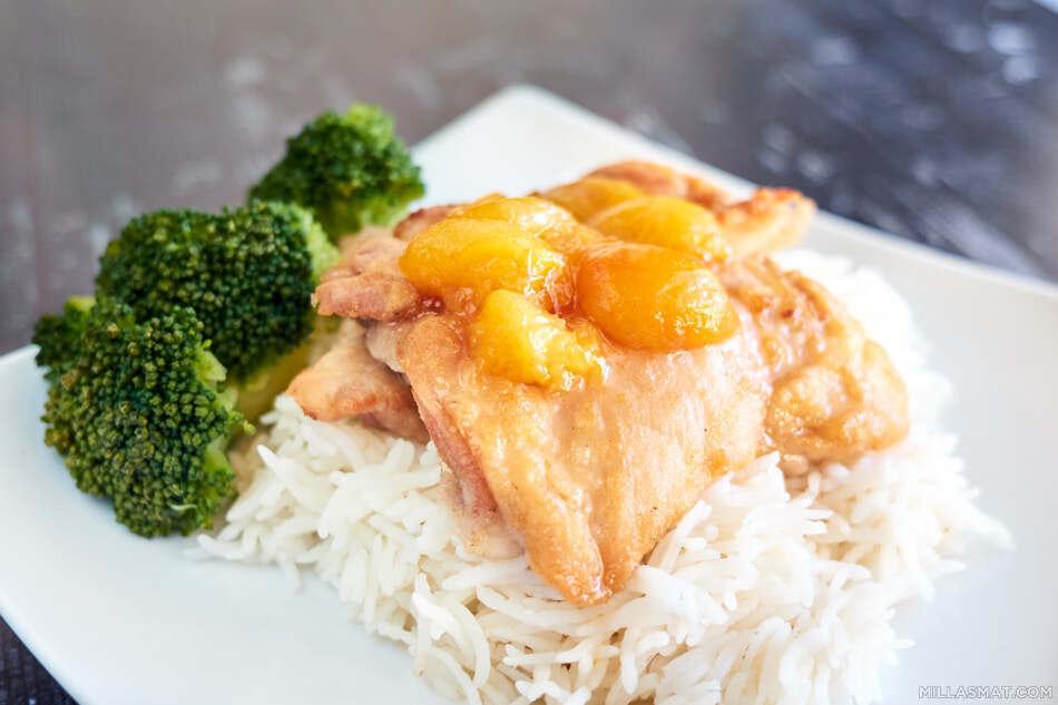 kylling-plommesaus