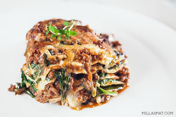 Lasagne Sette Strati :: 7 lags lasagne fra Firenze