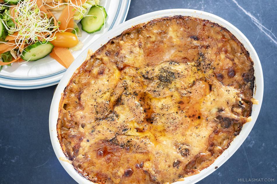 lasagne-snarvei