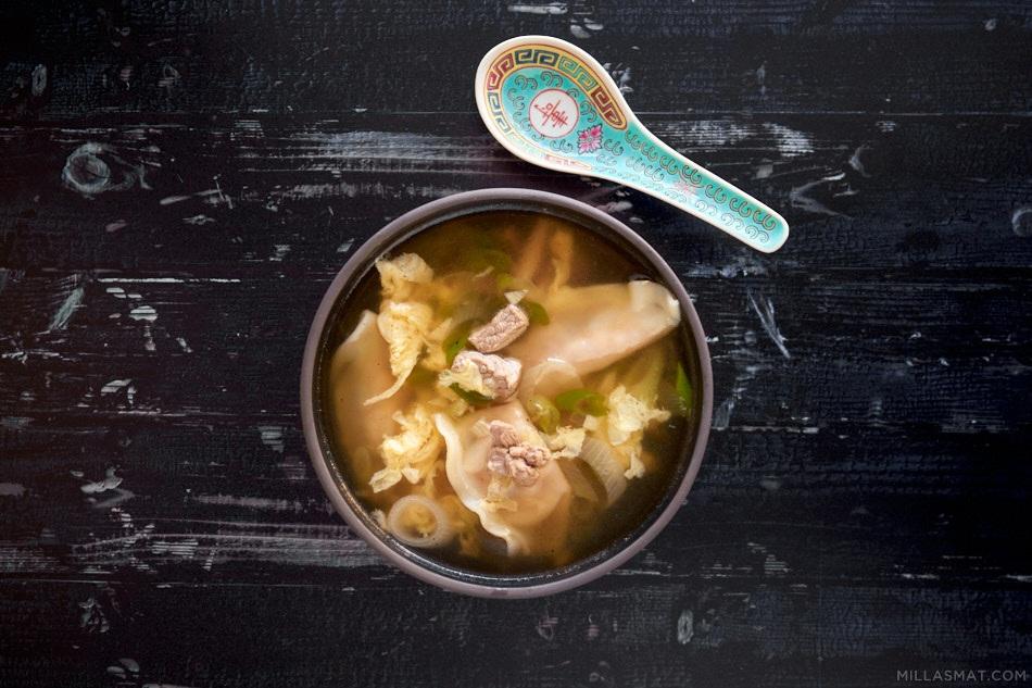 Koreansk dumplingsuppe