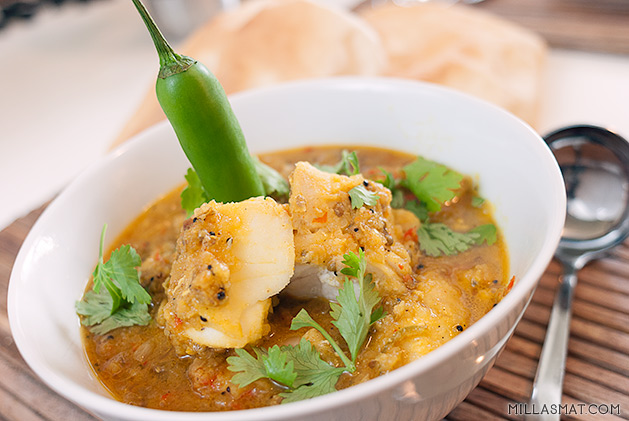 Meen Kolumbu :: indisk fiskecurry