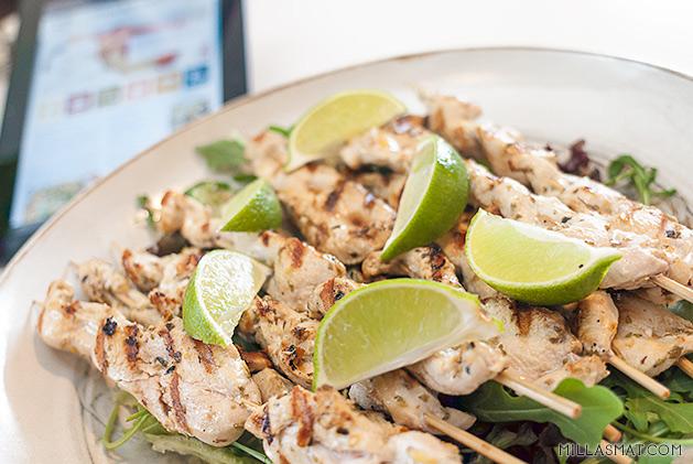 Mexicanske kyllingspyd