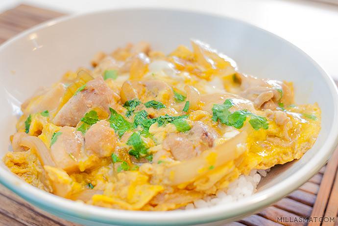 Oyakodon :: kyllingen og egget