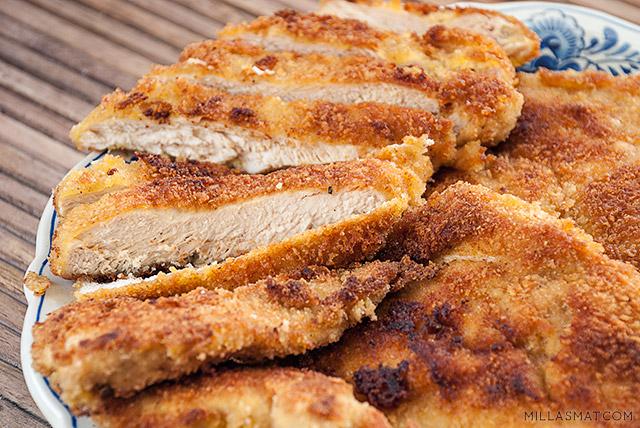 panert-kylling