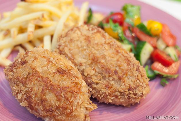 pannestekte-kyllingkaker