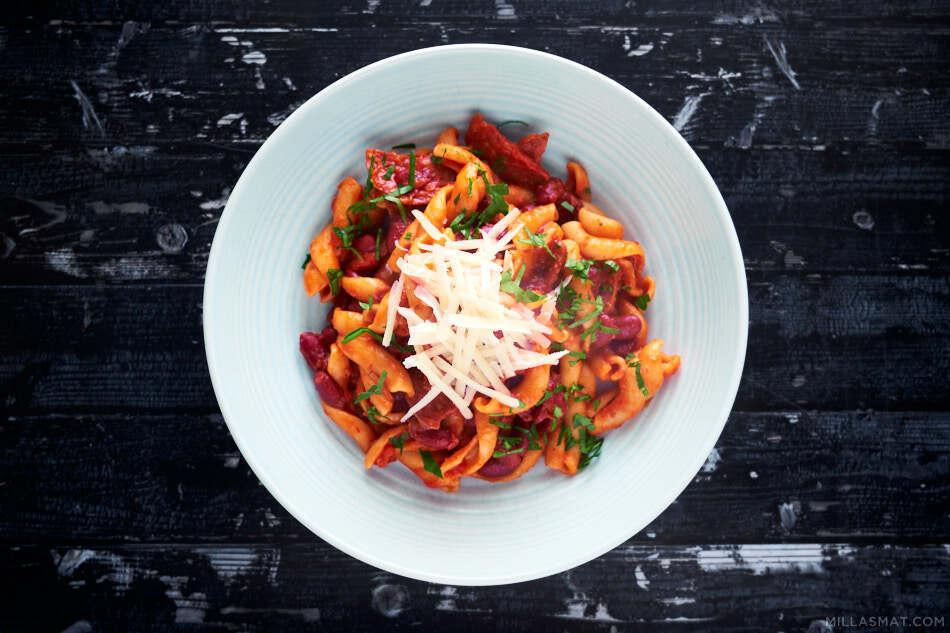 pasta-salami