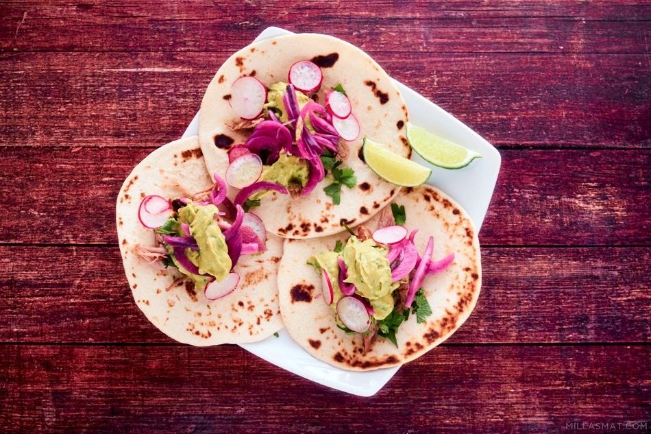 Patys tacos fra New York med Greensauce