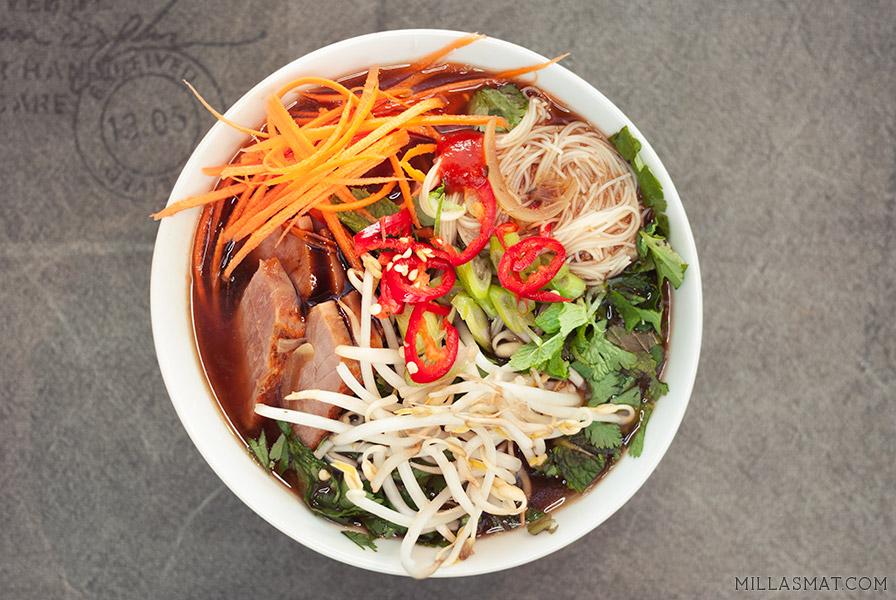 Phở :: en raskere hverdagsvariant av den vietnamesiske klassikeren