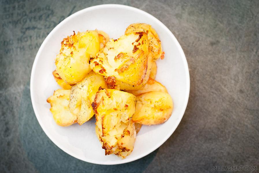 Ristede poteter på britisk vis