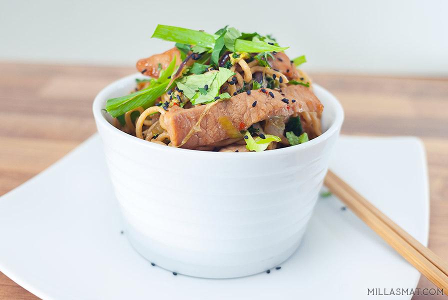 Rockewok Chow Mein