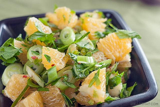 Sitrus salsa verde