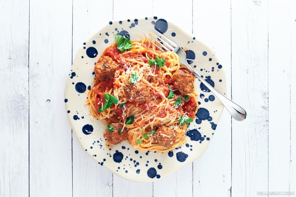 Spaghetti à la Capri