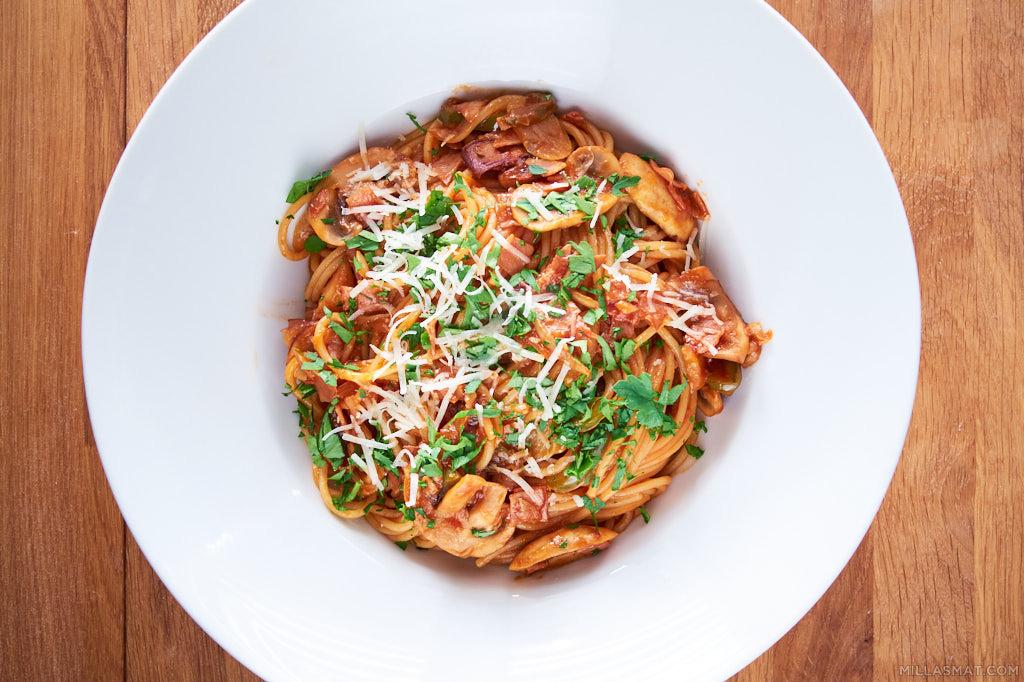 spaghetti-napolitan