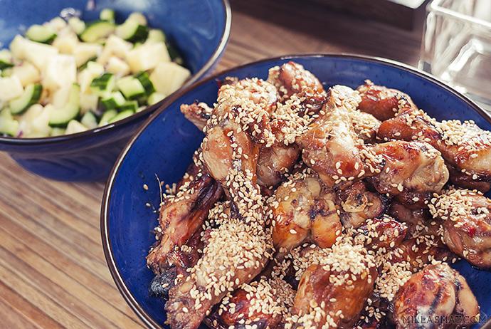 Kyllingklubber middag