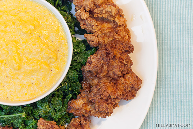 Sylvias southern fried chicken :: fritert kylling
