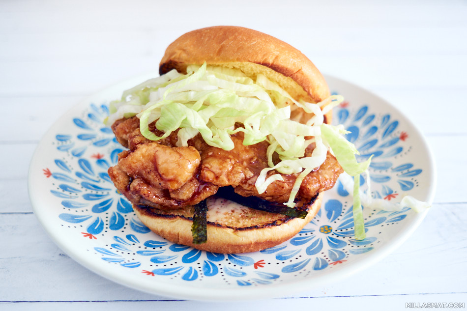 Crispy Teriyaki Chicken Burger