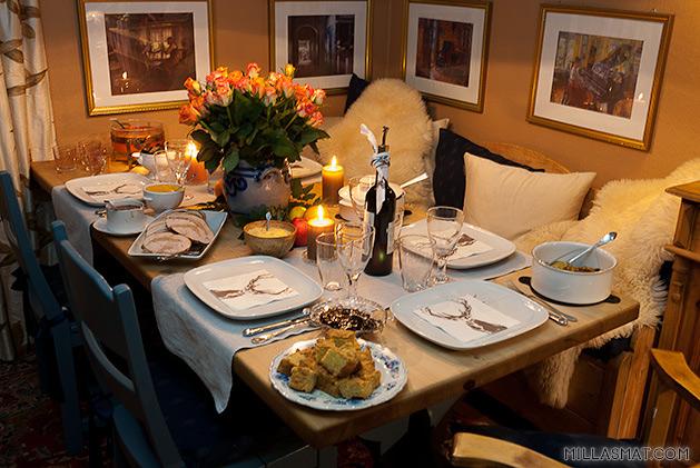 Thanksgivingbordet 2012