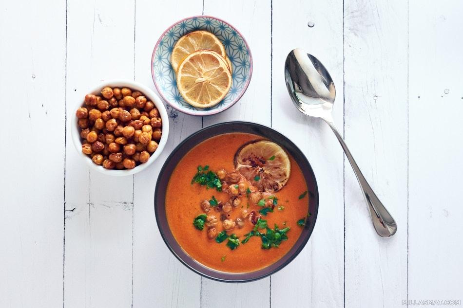 tomatsuppe-sitronkikerter