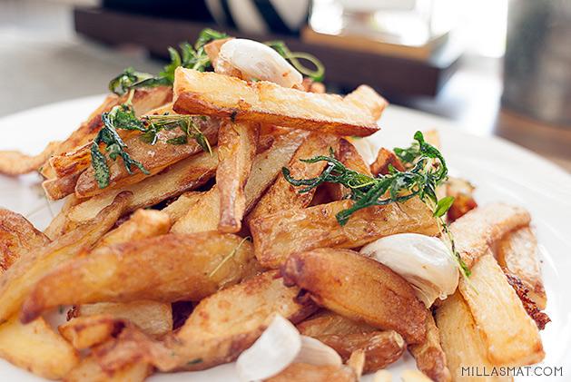 Tuscan fries :: toscanske poteter