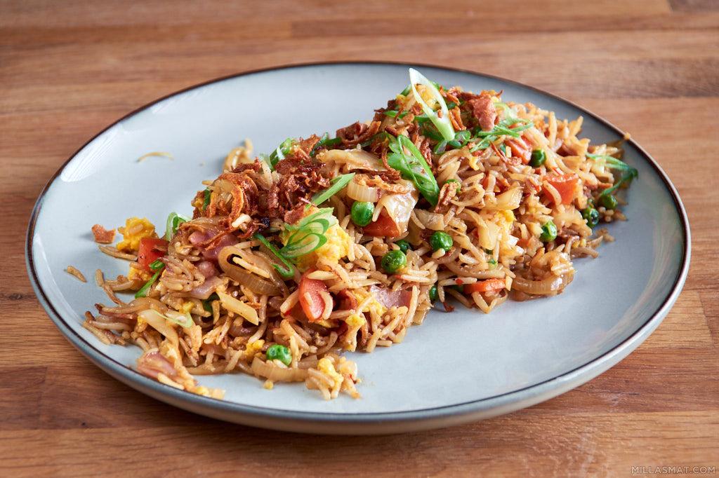 Yangzhou stekt ris :: Juvelris 炒饭