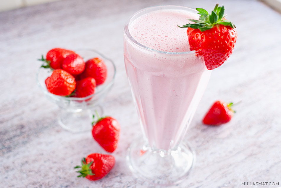 The Ultimate Strawberry Shake