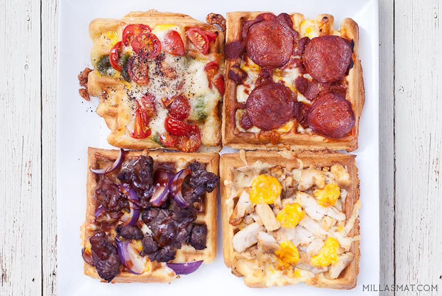koreansk-vaffelpizza