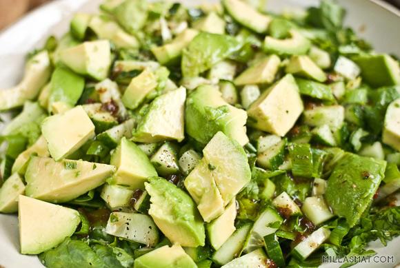 Min grønn-grønne salat