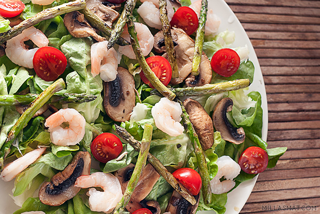 Gustav VI Adolf sommerlige salat