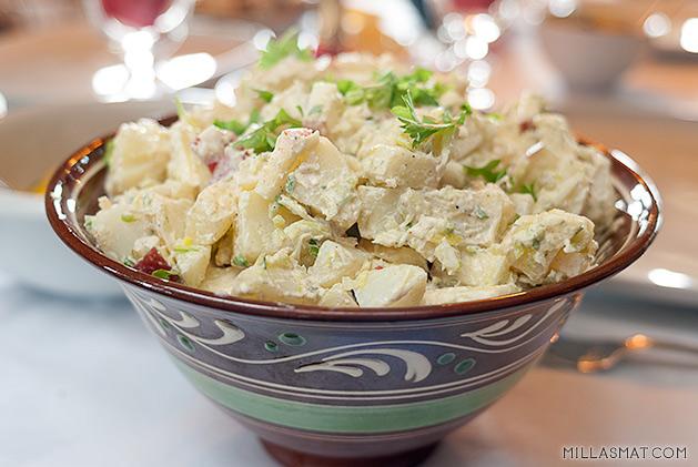ingvilds-potetsalat