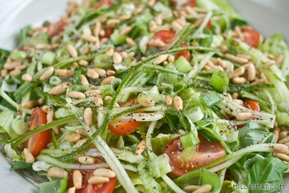 italiensk-urtesalat