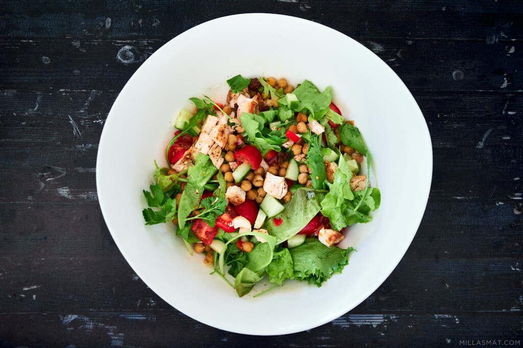 lunsjsalat