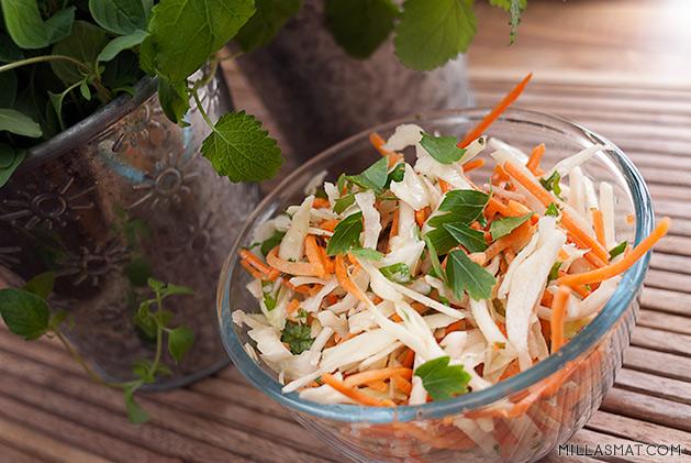 Salade de catrottes râpèes
