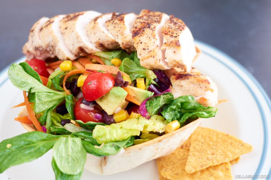 The Southwestern Chopped Salad