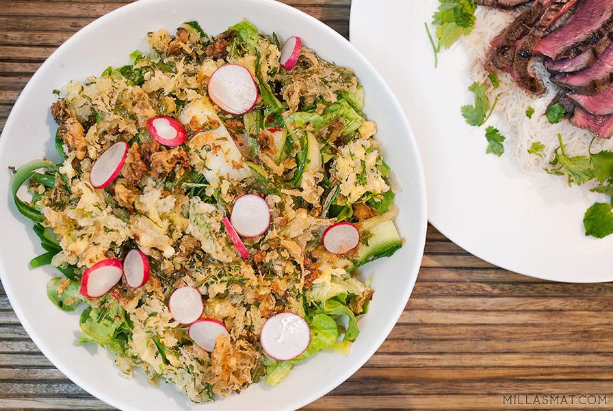 Yum Yai salat